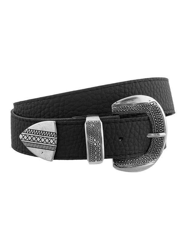 Cinturón Hebilla con Detalle