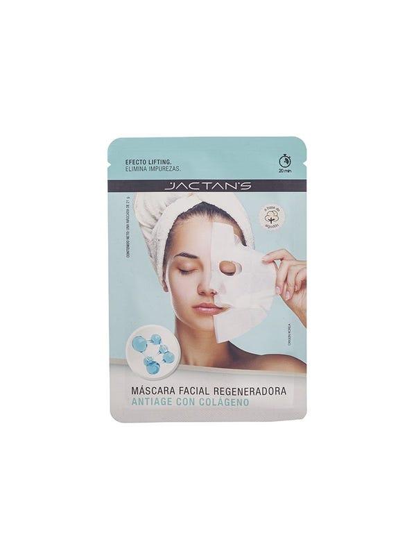 Máscara facial antiage con colágeno