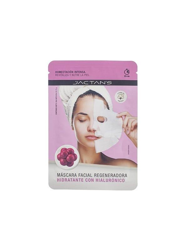 Máscara facial hidratante con hialuronico.