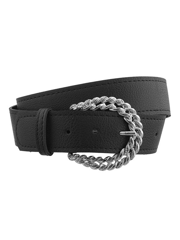 Cinturón Maxi Hebilla Trenzada
