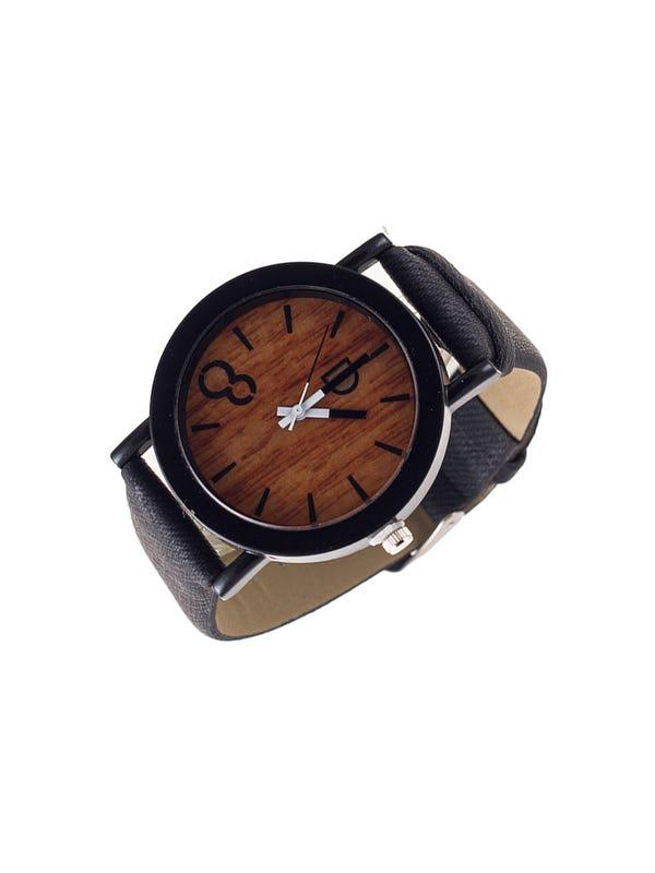 Reloj de mujer malla cuero ecológico