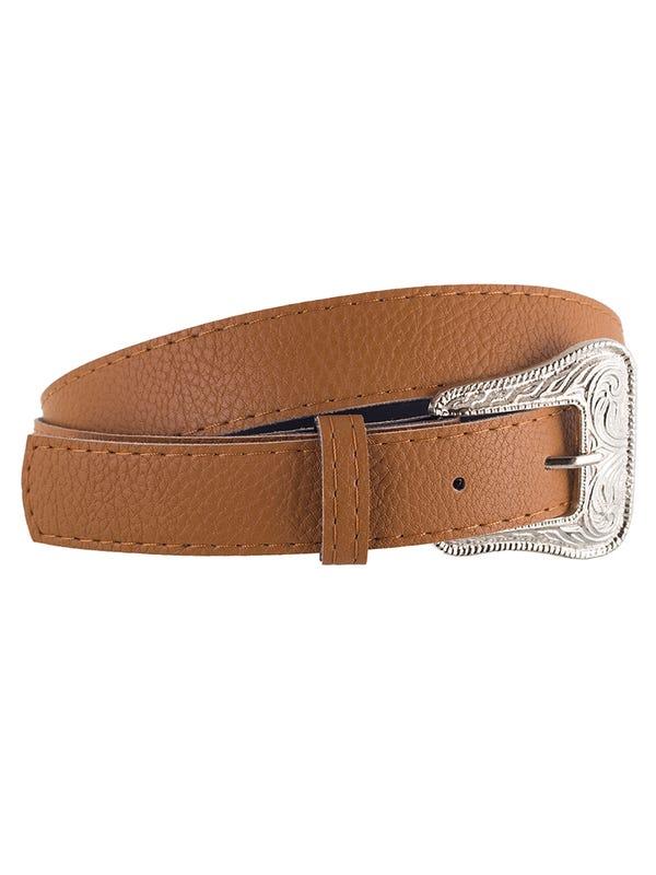 Cinturón Hebilla Labrada