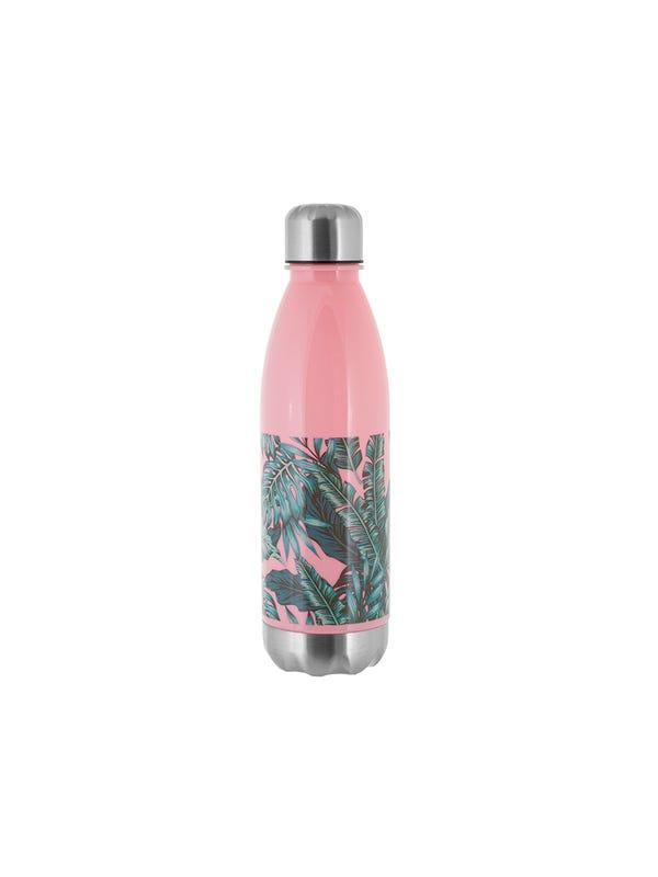 Botella con hojas 700 ml