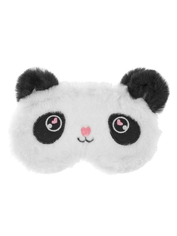 Antifaz de peluche oso panda