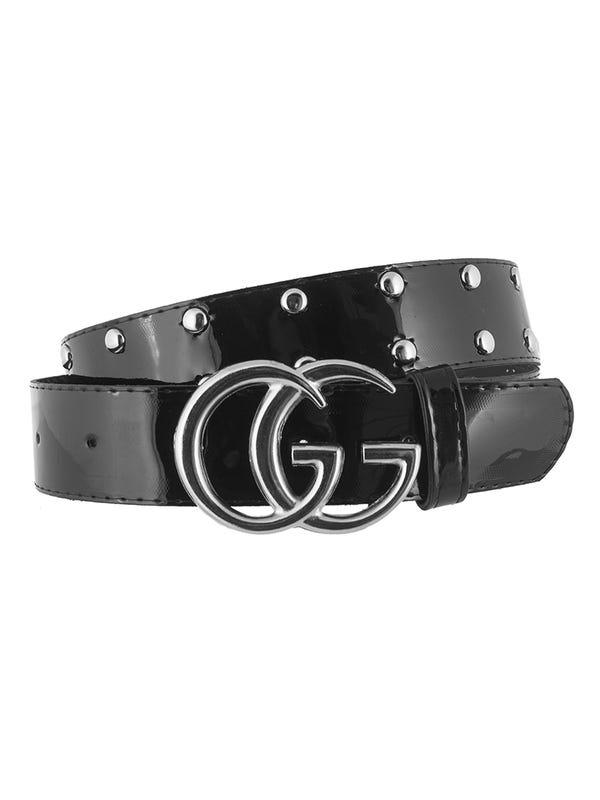 Cinturón GG Charol