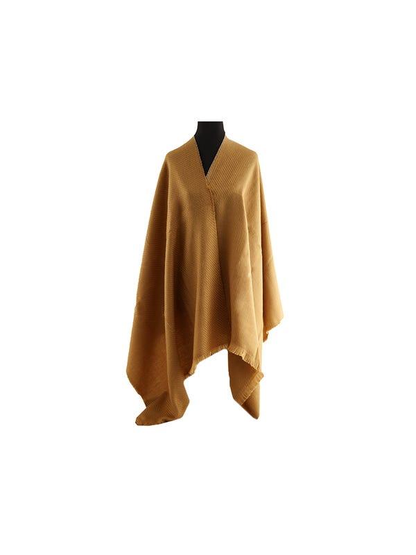 Mantón Liso de lana Suela