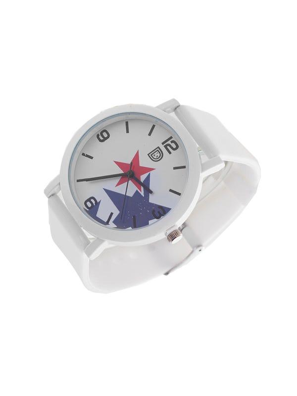 Reloj Silicona Blanco