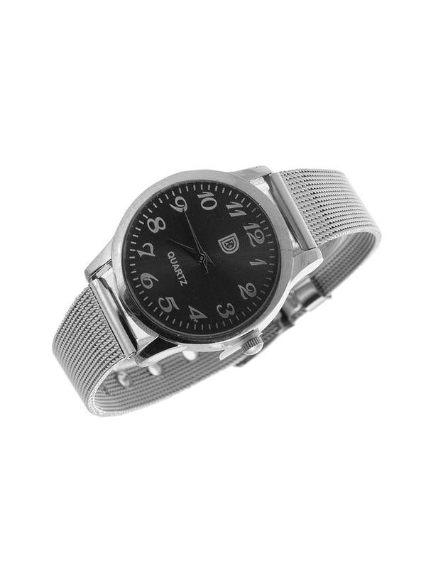Reloj diseño Metálico Negro