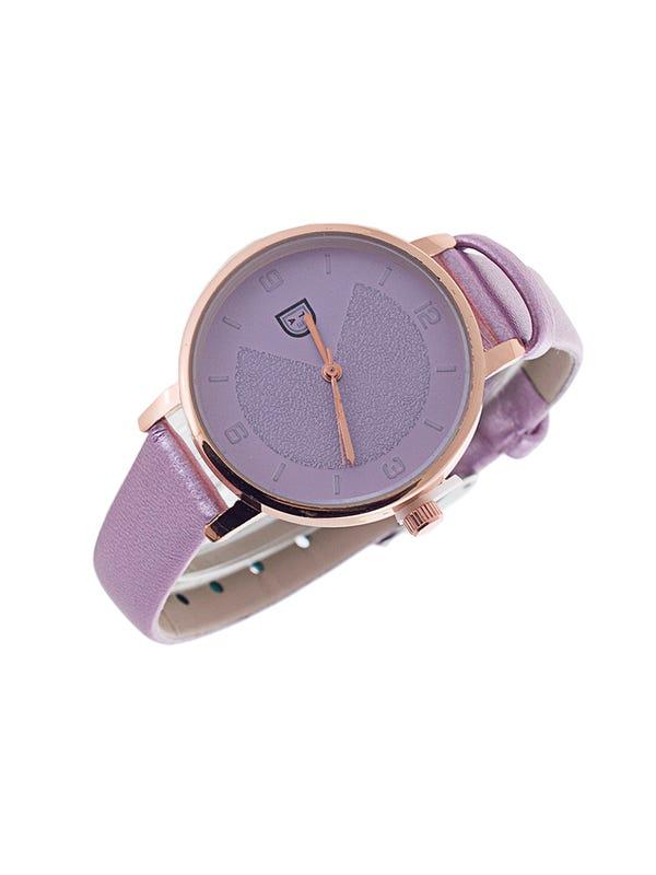 Reloj cuero ecológico Rosa