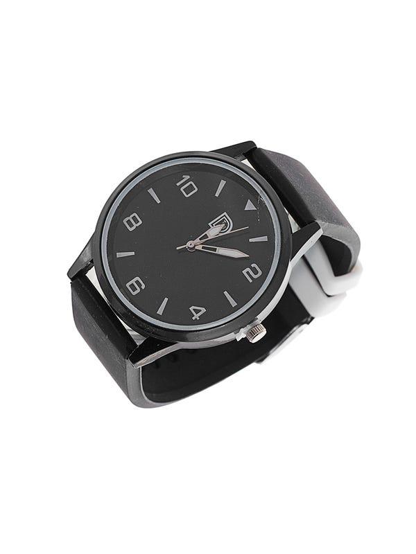 Reloj silicona Negro