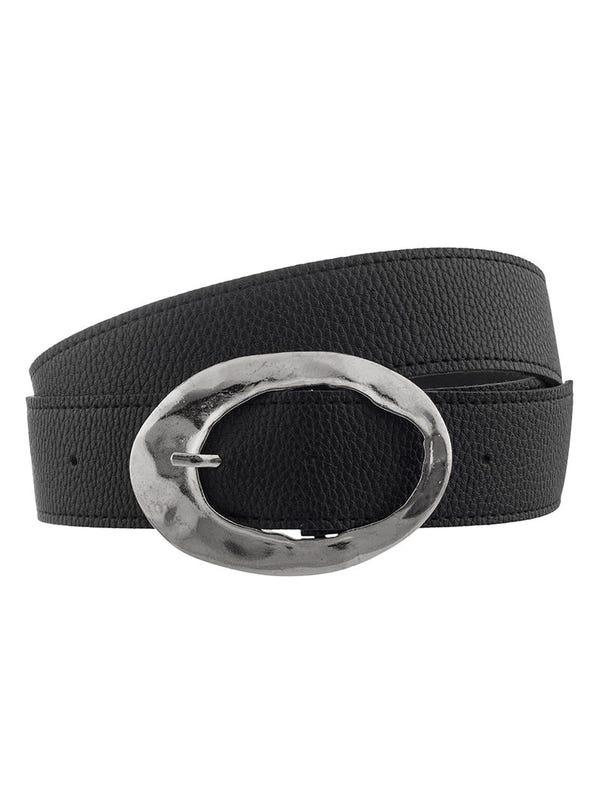 Cinturón Hebilla Ovalada