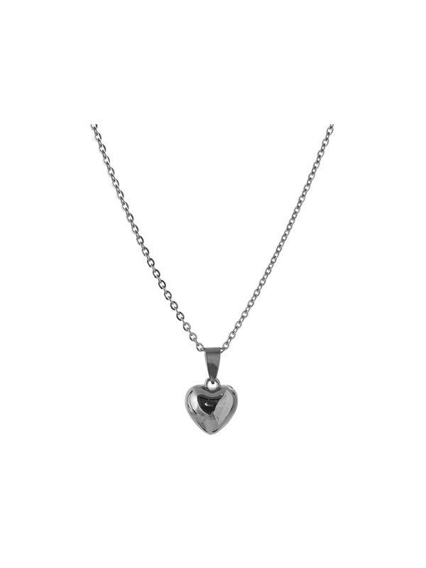 Cadena de acero quirúrgico corazón fantasía