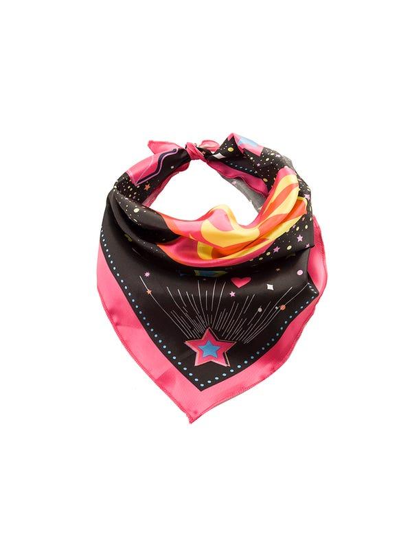 Pañuelo de seda diseño exclusivo.