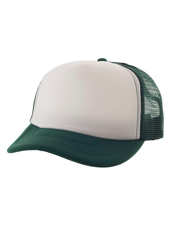 Gorra cap lisa con frente blanco