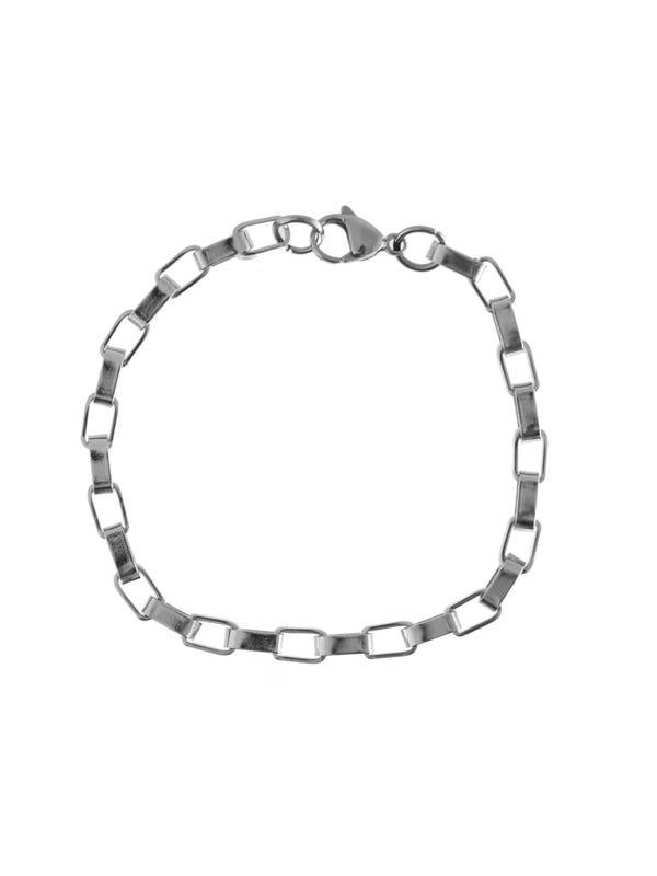 Pulsera cadena gruesa de acero quirúrgico