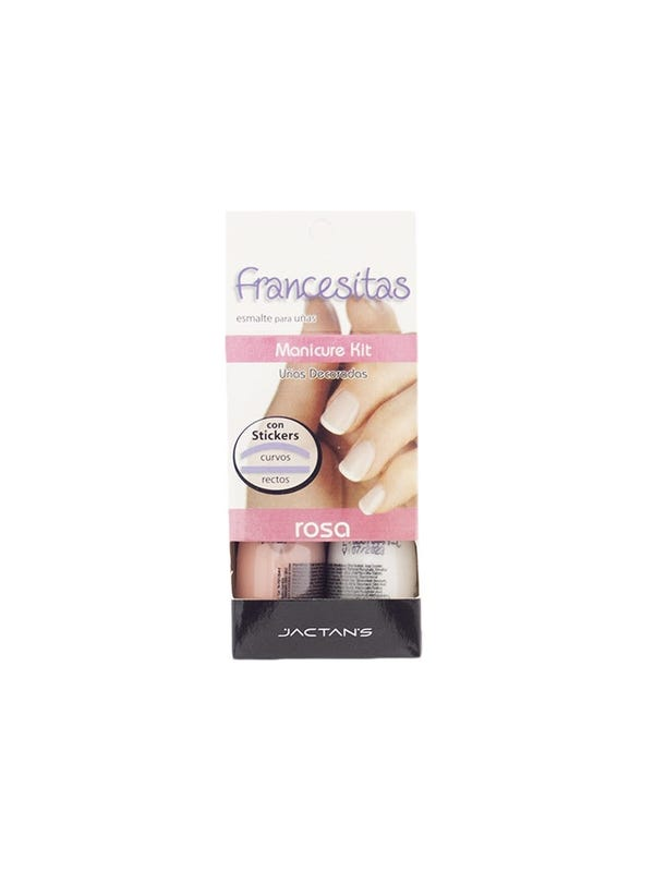 Kit de Jactan's para hacer francesita rosa
