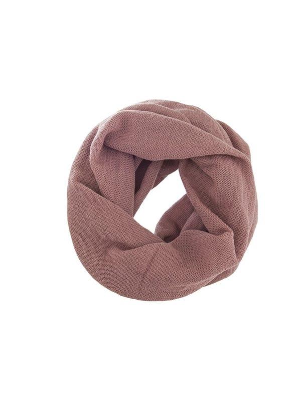 Cuello de lana liso tubular Unisex colores pasteles