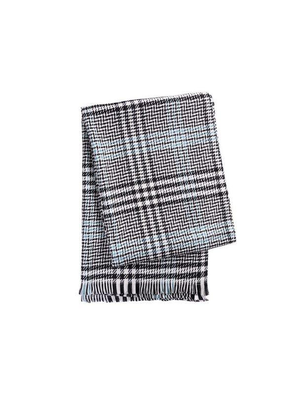 Manta/Mantón premium de lana frizado